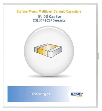 KEMET , Surface Mount Ceramic Capacitor Kit 1150 pieces