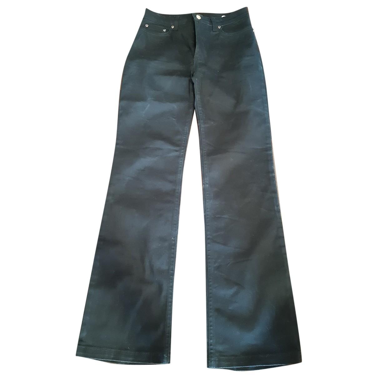 Roberto Cavalli \N Black Cotton - elasthane Jeans for Women 25 US