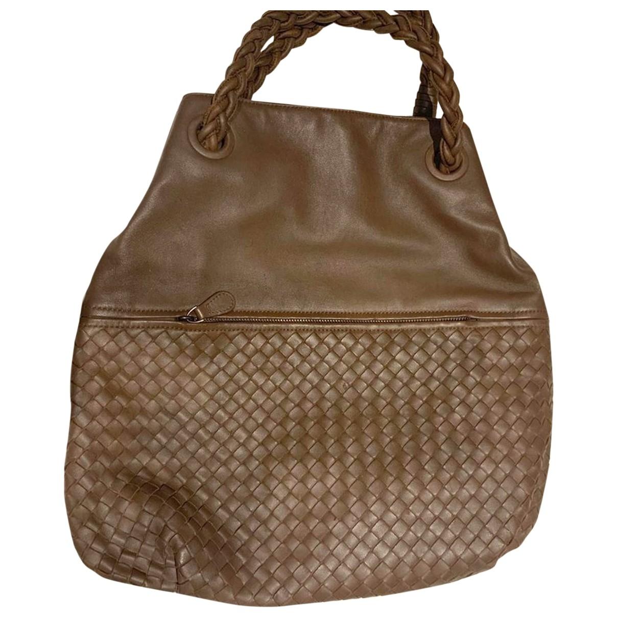 Bottega Veneta \N Leather handbag for Women \N