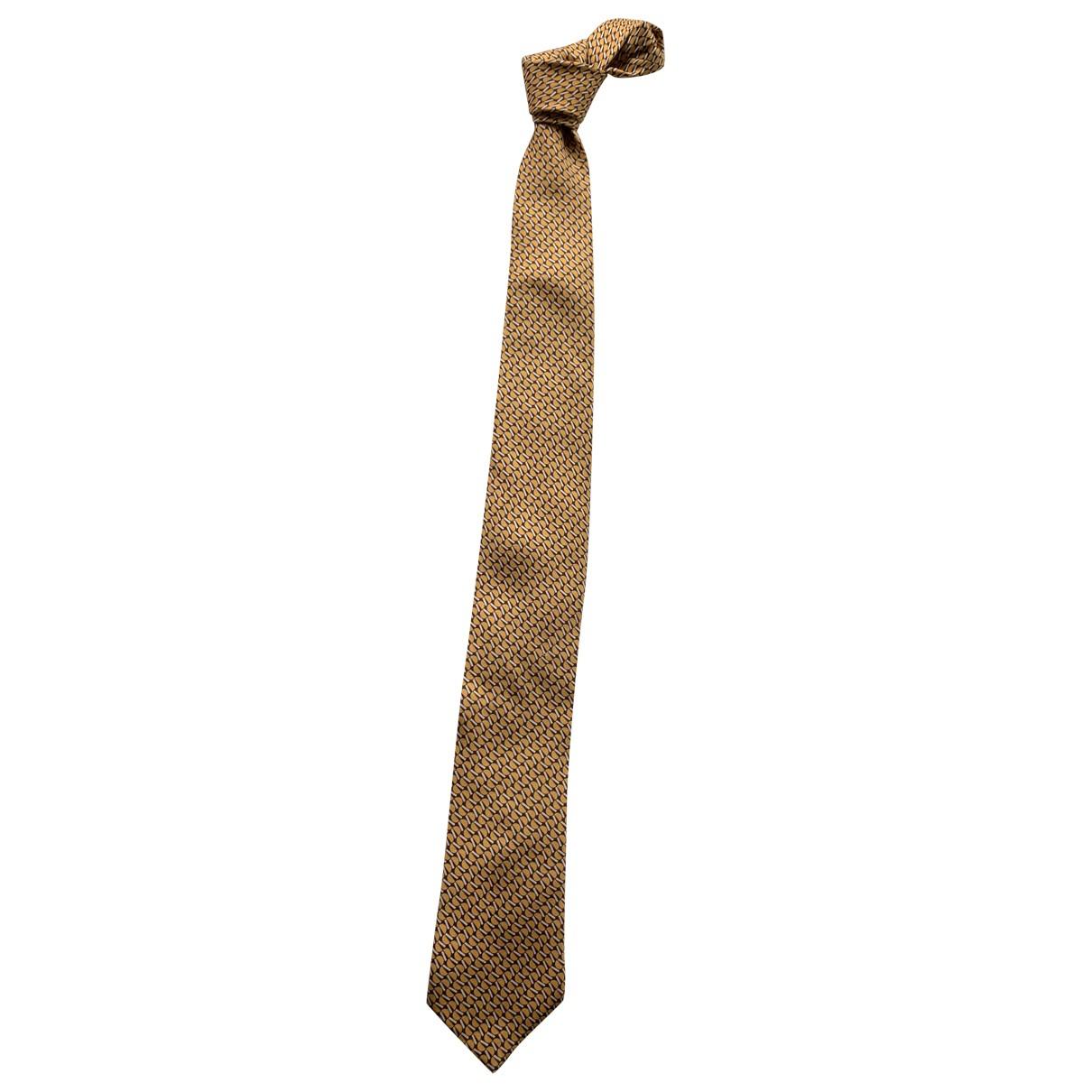 Prada - Cravates   pour homme en soie - beige
