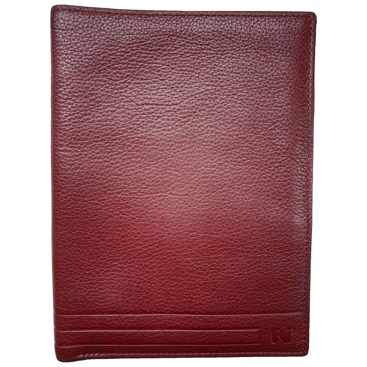 Nina Ricci \N Burgundy Leather Purses, wallet & cases for Women \N