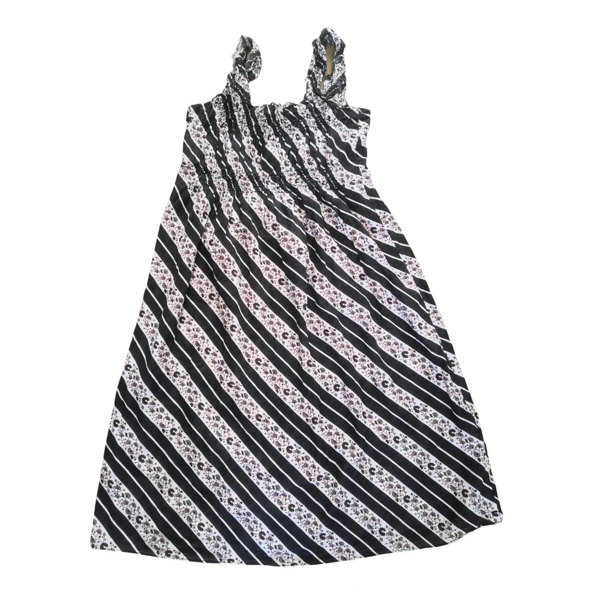 Laurence Bras - Robe   pour femme en coton - noir