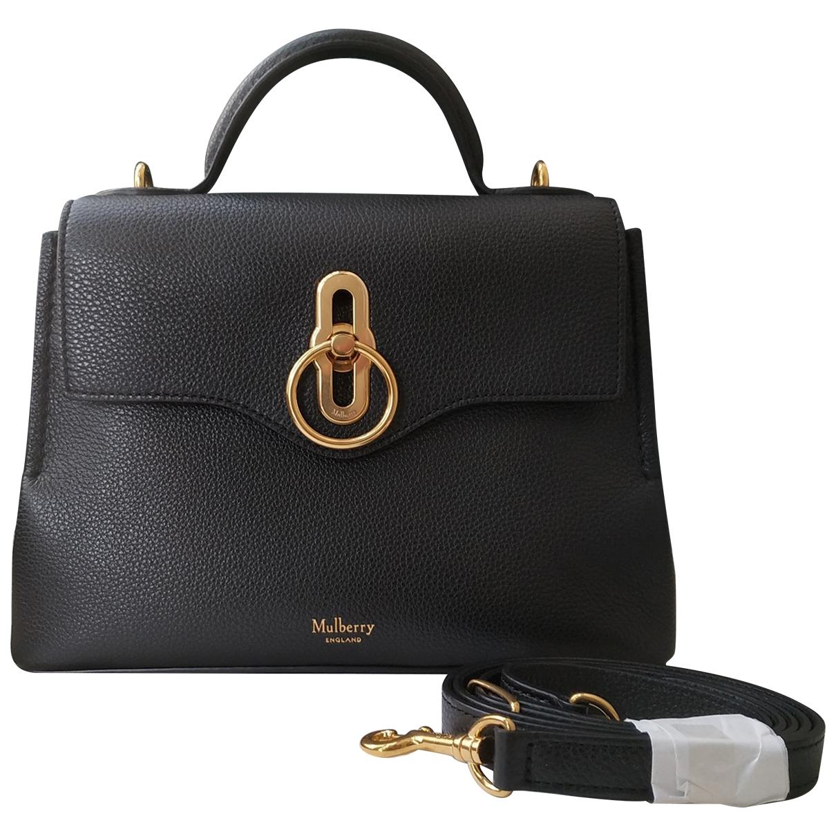 Mulberry Seaton Black Leather handbag for Women \N