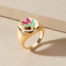 Flower Decor Ring