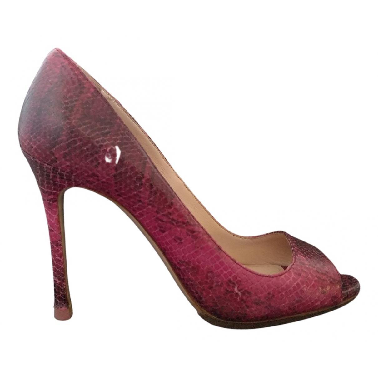 Miu Miu N Multicolour Leather Heels for Women 36.5 EU