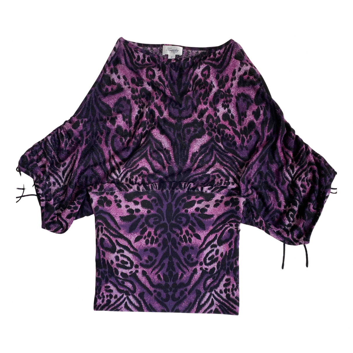 Temperley London \N Kleid in  Lila Wolle