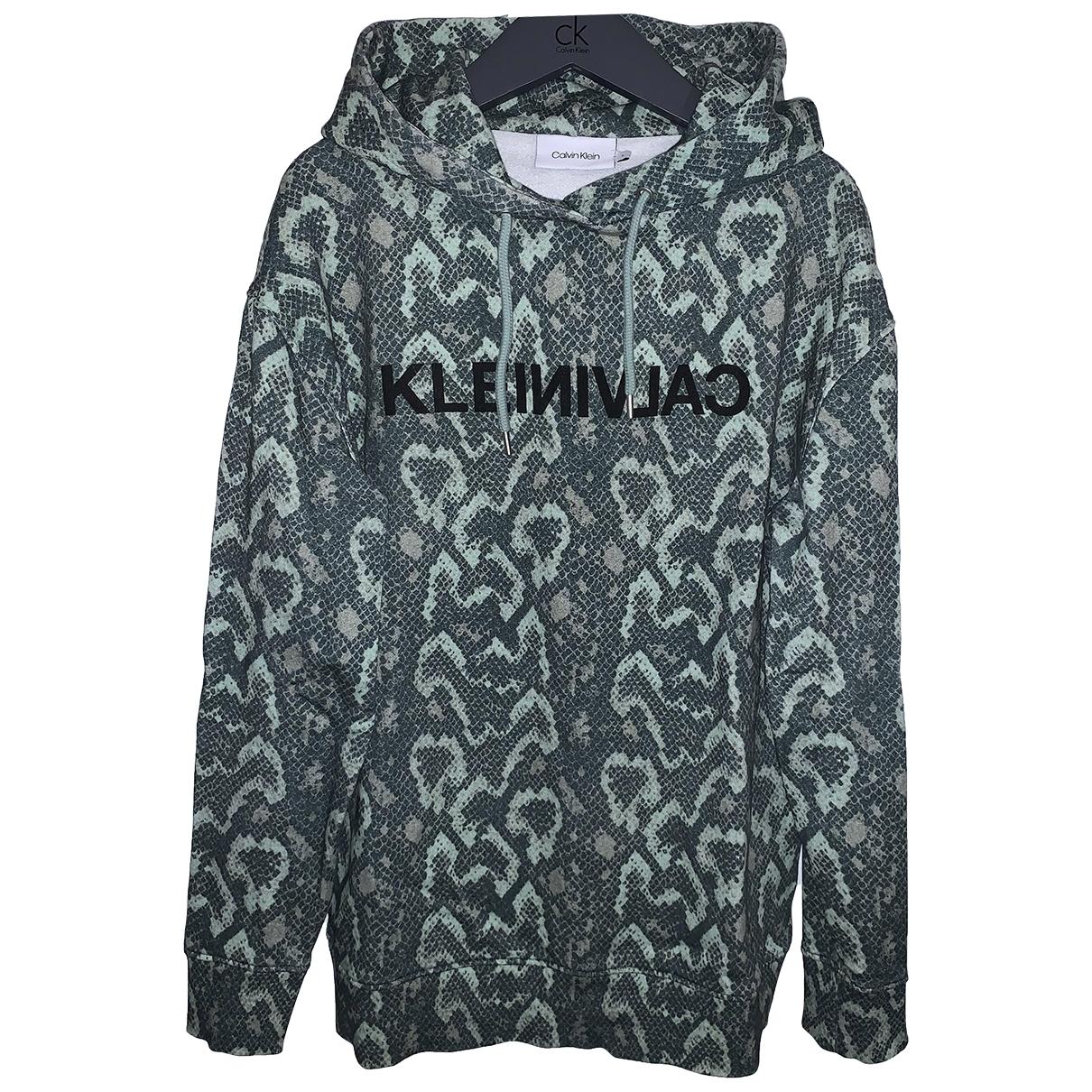 Calvin Klein \N Khaki Cotton Knitwear for Women S International