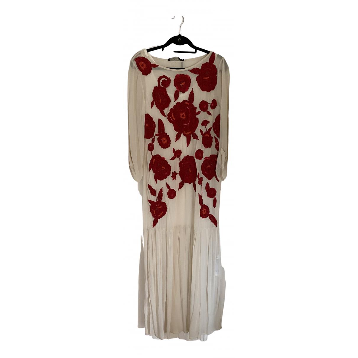 Twin Set \N Kleid in  Beige Viskose