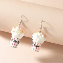 Popcorn Drop Earrings