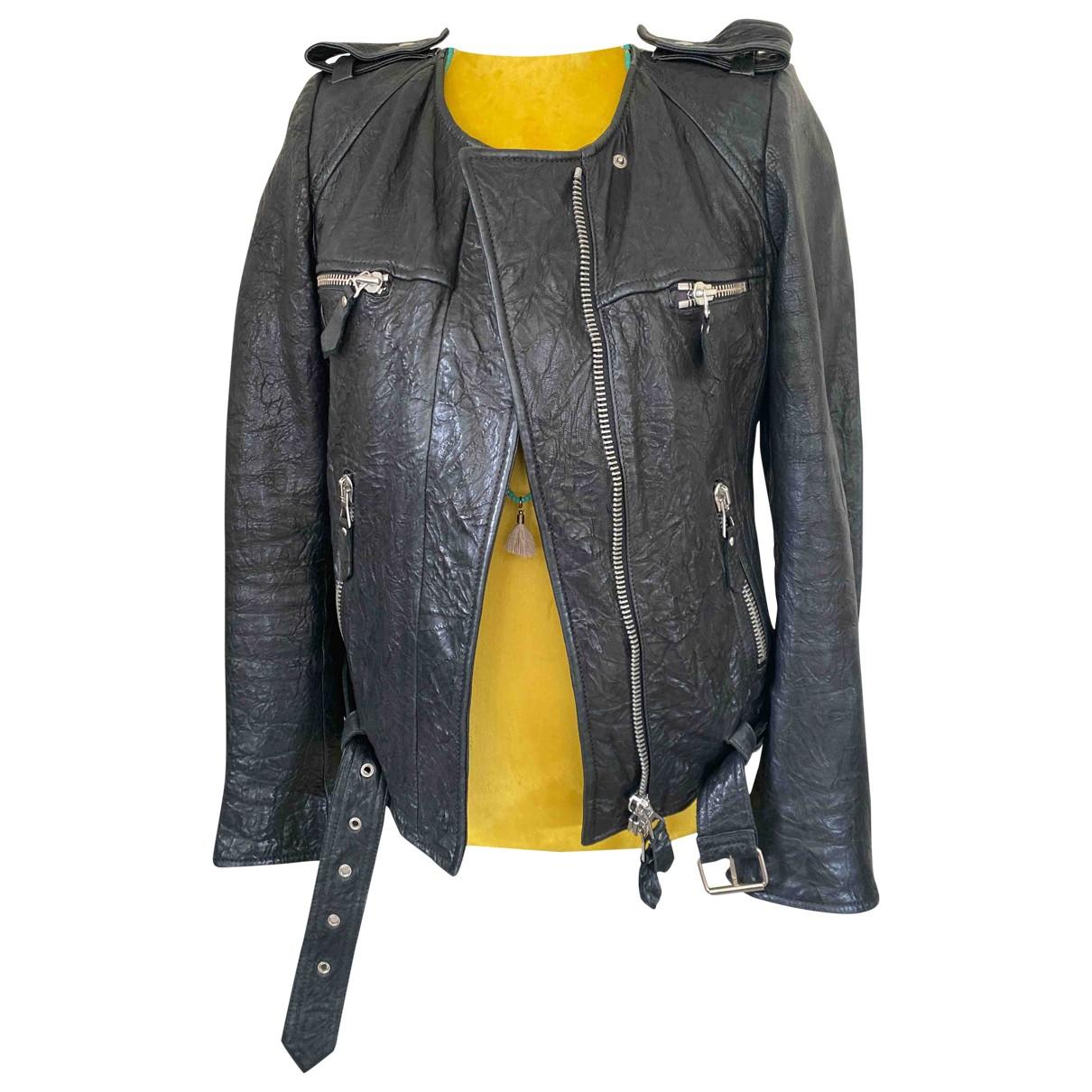 Isabel Marant \N Black Leather jacket for Women 38 FR