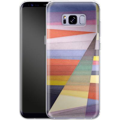 Samsung Galaxy S8 Plus Silikon Handyhuelle - You Were Trying Too Hard von Georgiana Teseleanu