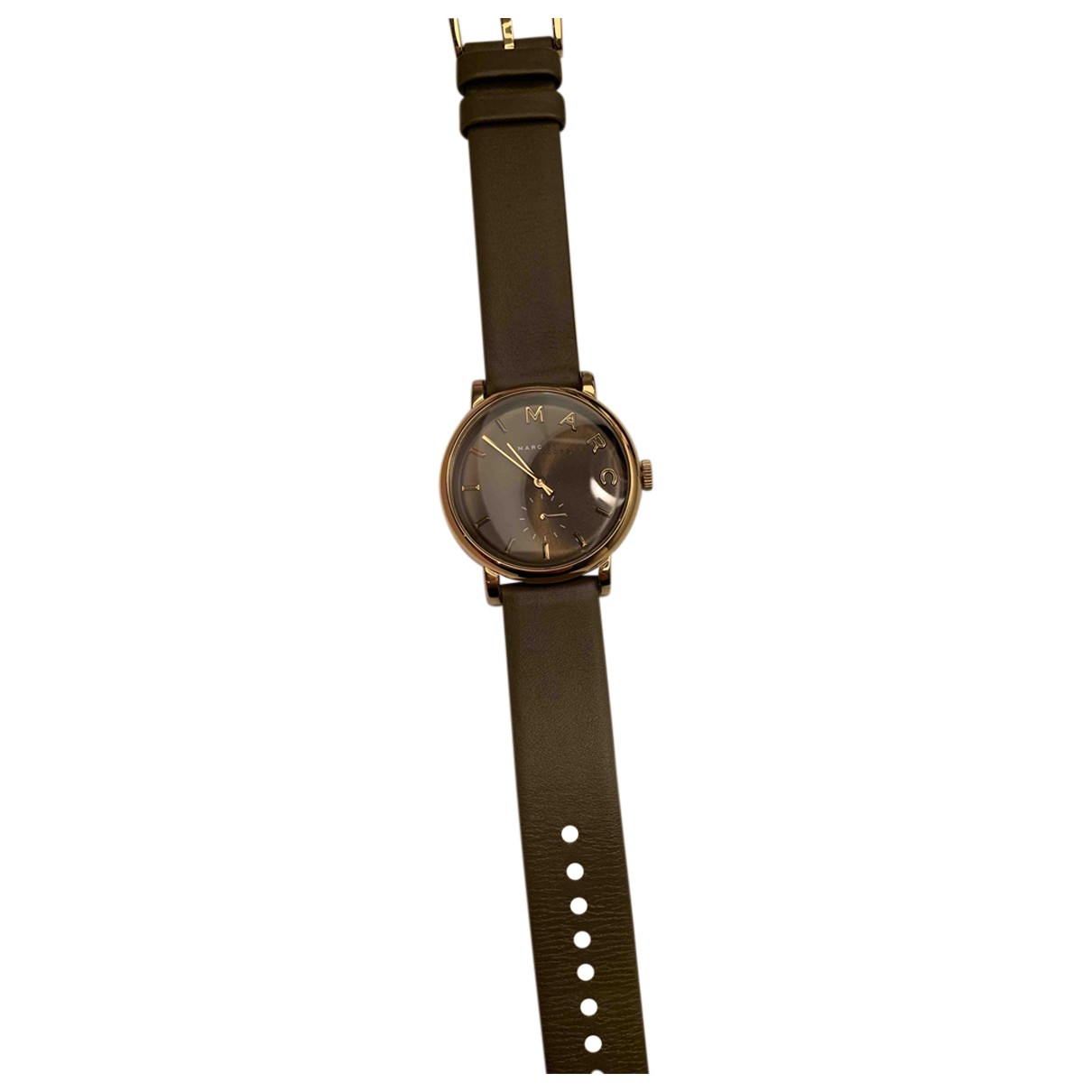Marc By Marc Jacobs \N Uhr in  Grau Vergoldet