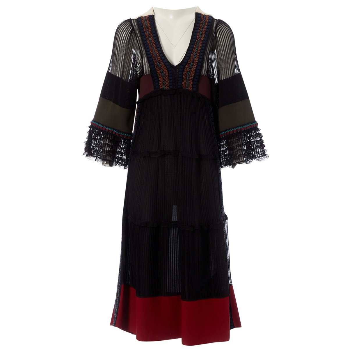 Valentino Garavani \N Multicolour Silk dress for Women S International