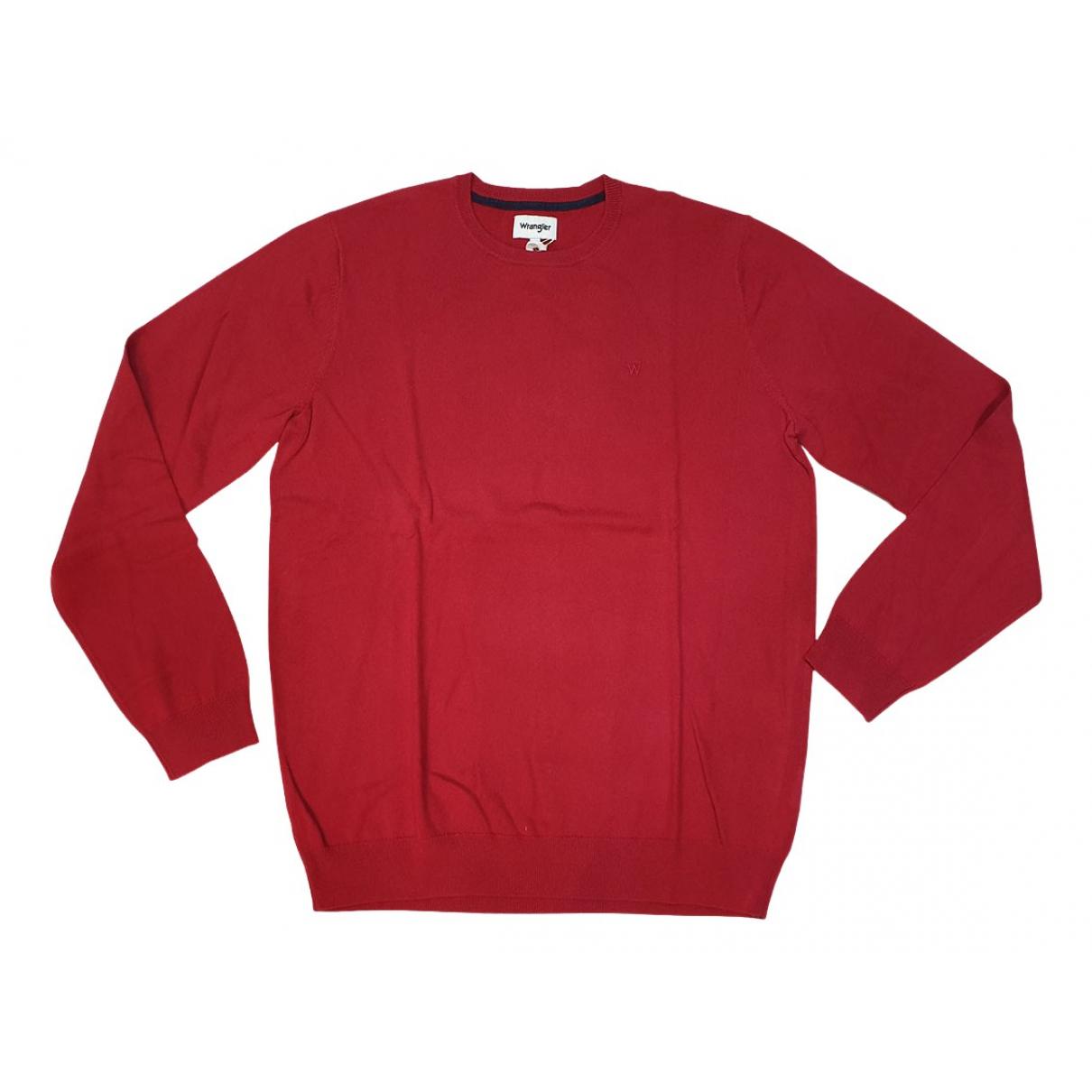 Wrangler \N Pullover.Westen.Sweatshirts  Rot