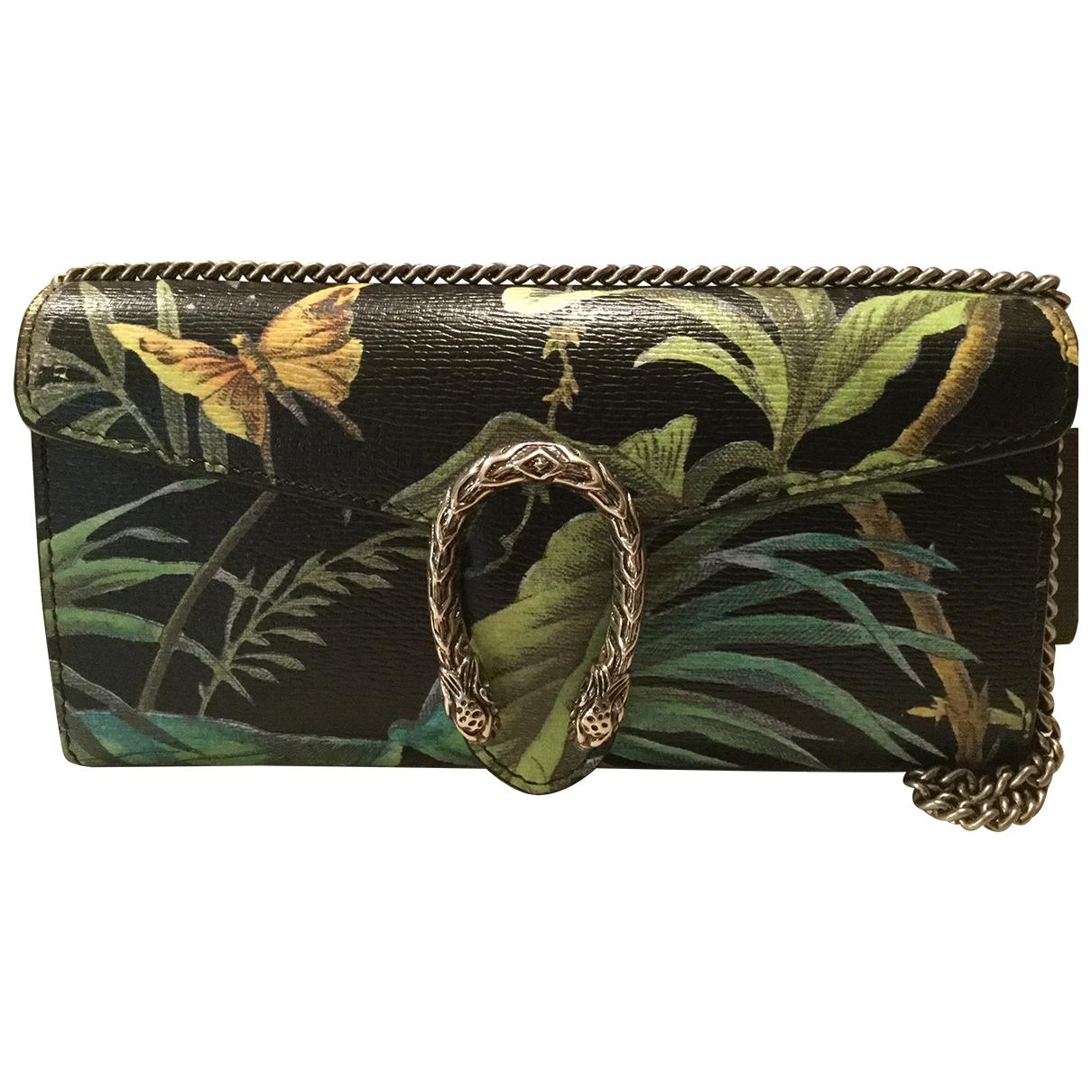 Gucci Dionysus Handtasche in  Schwarz Leder