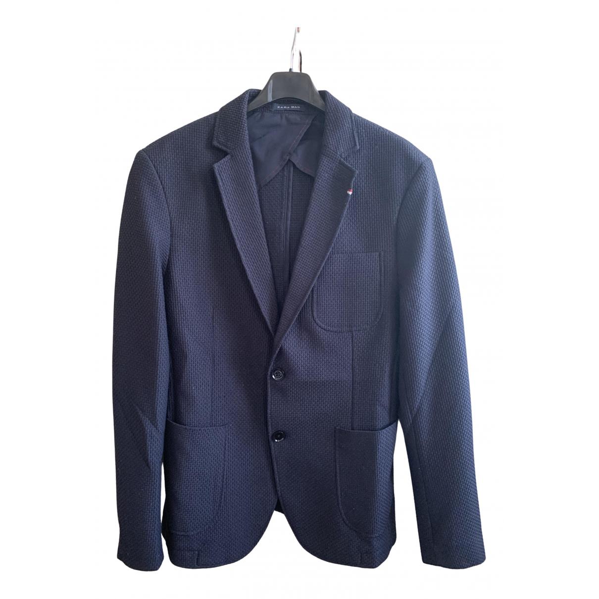 Zara N Blue jacket  for Men 48 IT