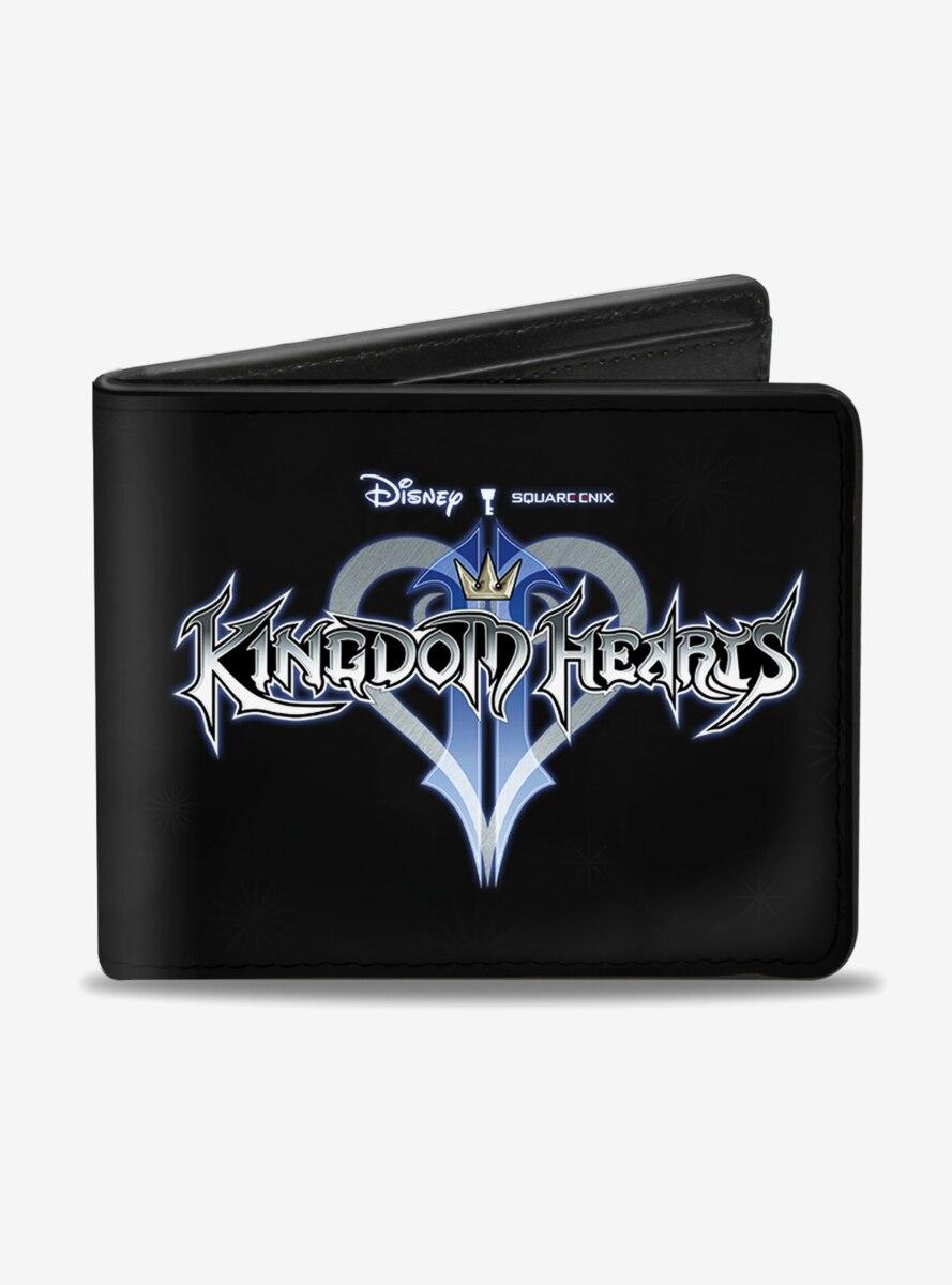 Disney Kingdom Hearts II Logo Bi-Fold Wallet