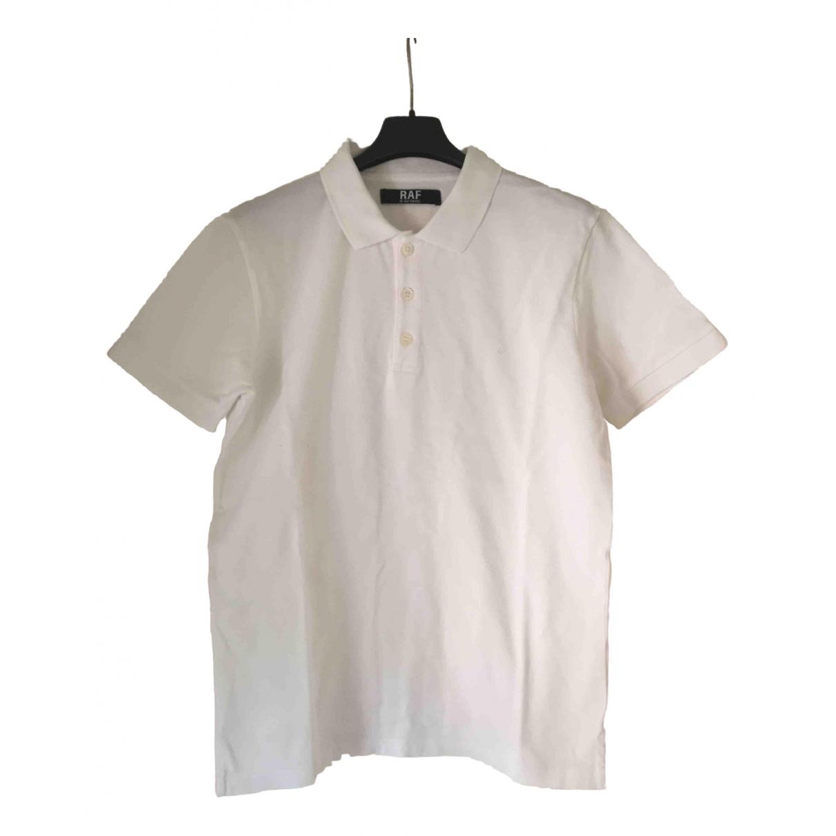 Raf Simons - Polos   pour homme en coton - blanc