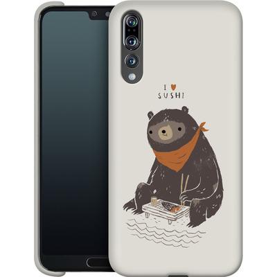 Huawei P20 Pro Smartphone Huelle - Sushi Bear von Louis Ros