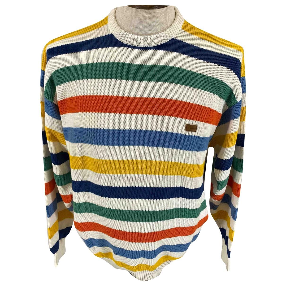 - Pulls.Gilets.Sweats Oversize pour homme en coton - multicolore