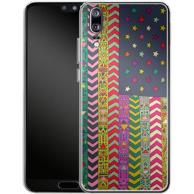 Huawei P20 Silikon Handyhuelle - MY USA von Bianca Green