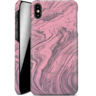 Apple iPhone XS Max Smartphone Huelle - Pink Marble von Emanuela Carratoni