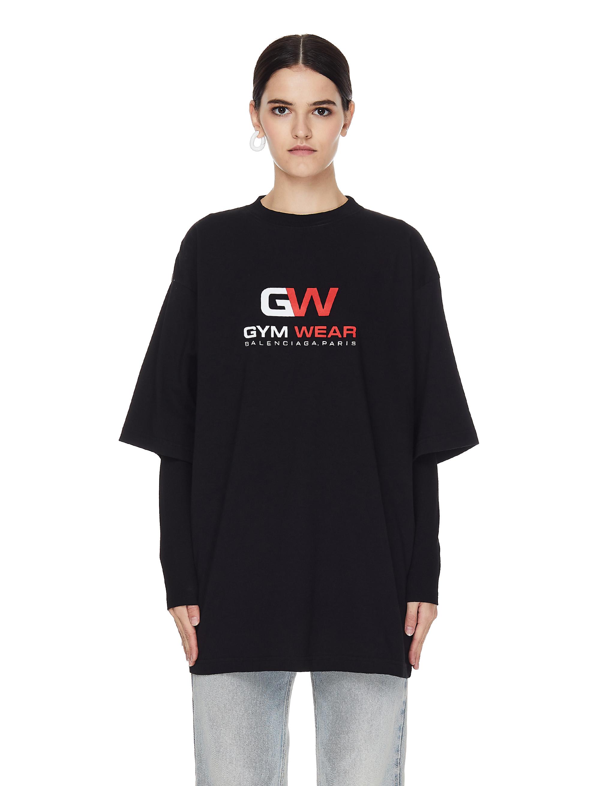 Balenciaga Oversize Gym Wear T-shirt