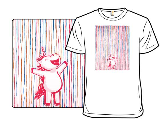Rainbow Rain! T Shirt