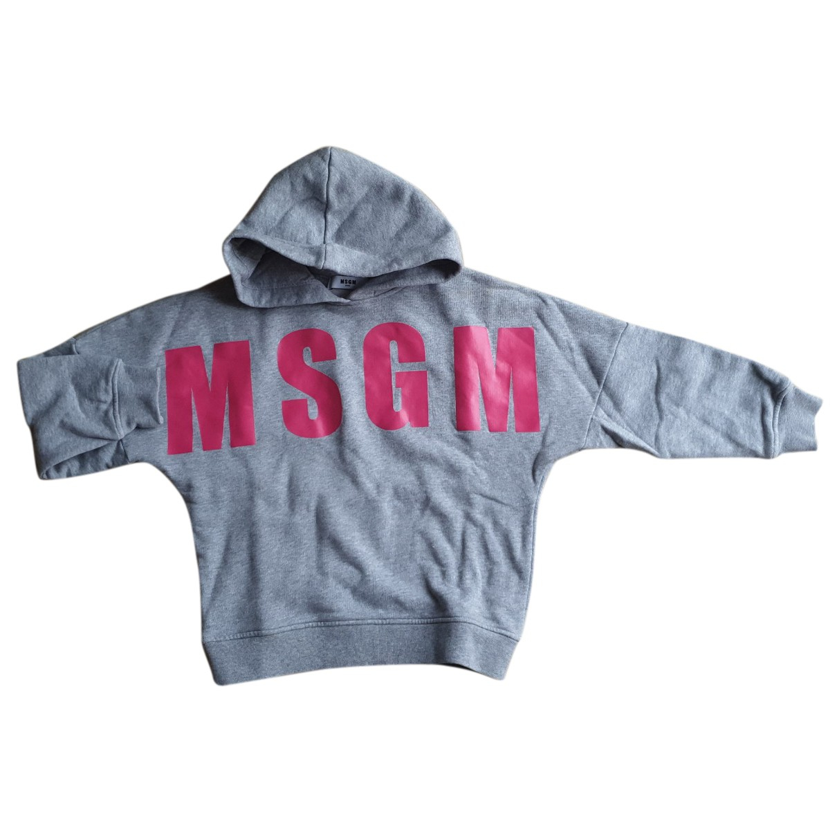 Msgm N Grey Cotton Knitwear for Kids 6 years - up to 114cm FR