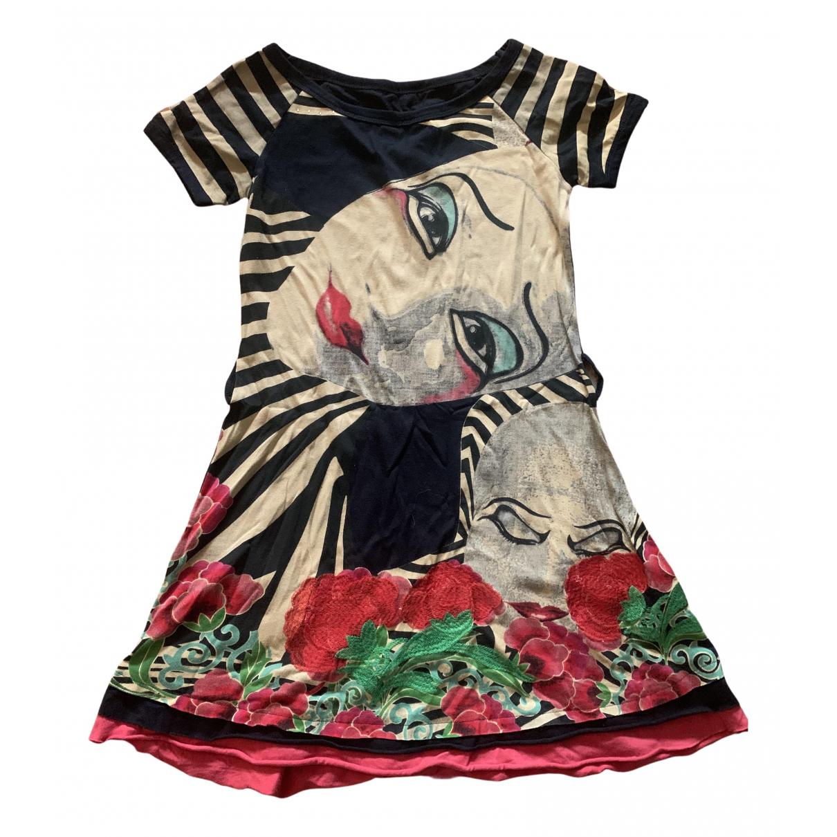 Desigual N Black Cotton dress for Women XS International