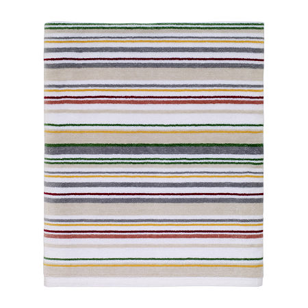 Dena Home Elenora Striped Bath Towel, One Size , Multiple Colors