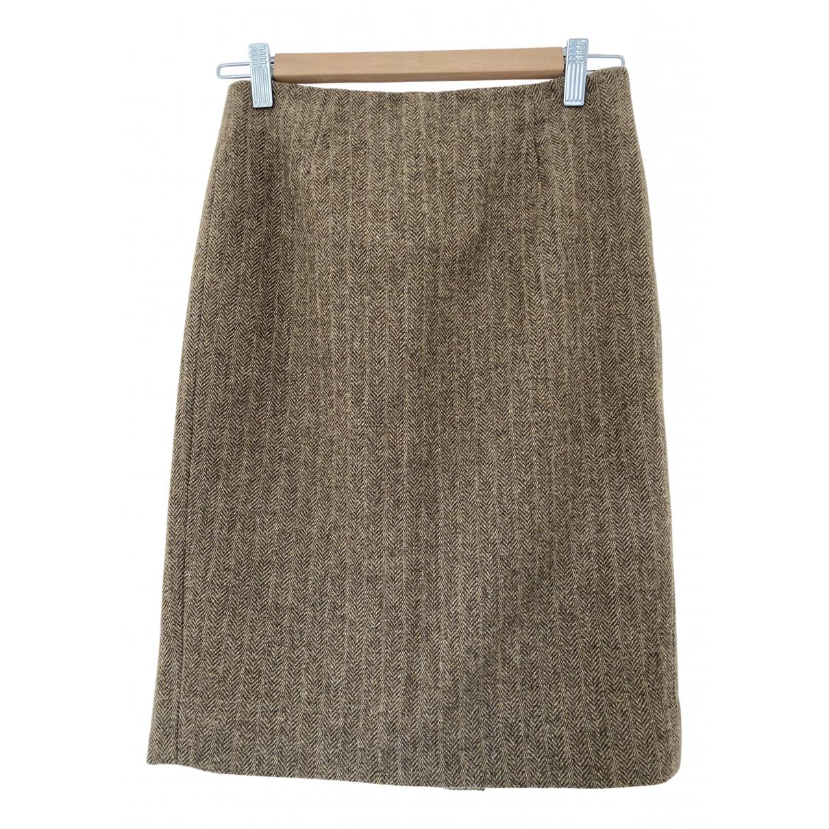 Ralph Lauren - Jupe   pour femme en laine - marron