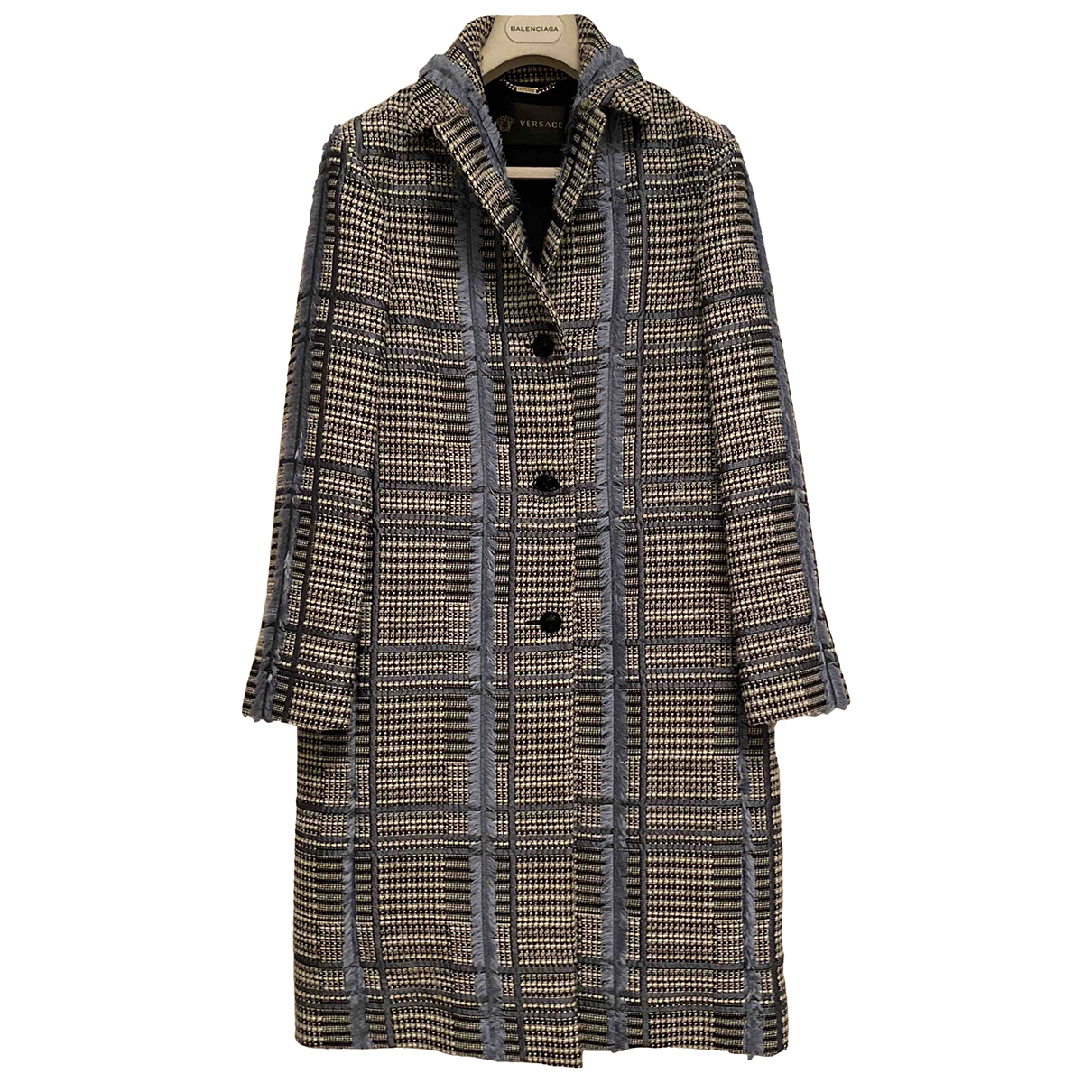 Versace \N Maentel in  Bunt Wolle