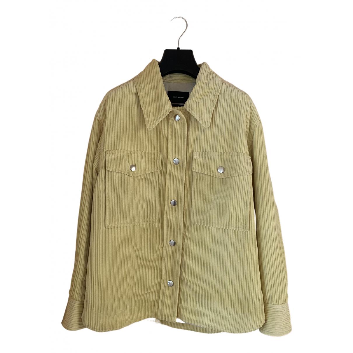 Isabel Marant \N Yellow Velvet jacket for Women 36 FR