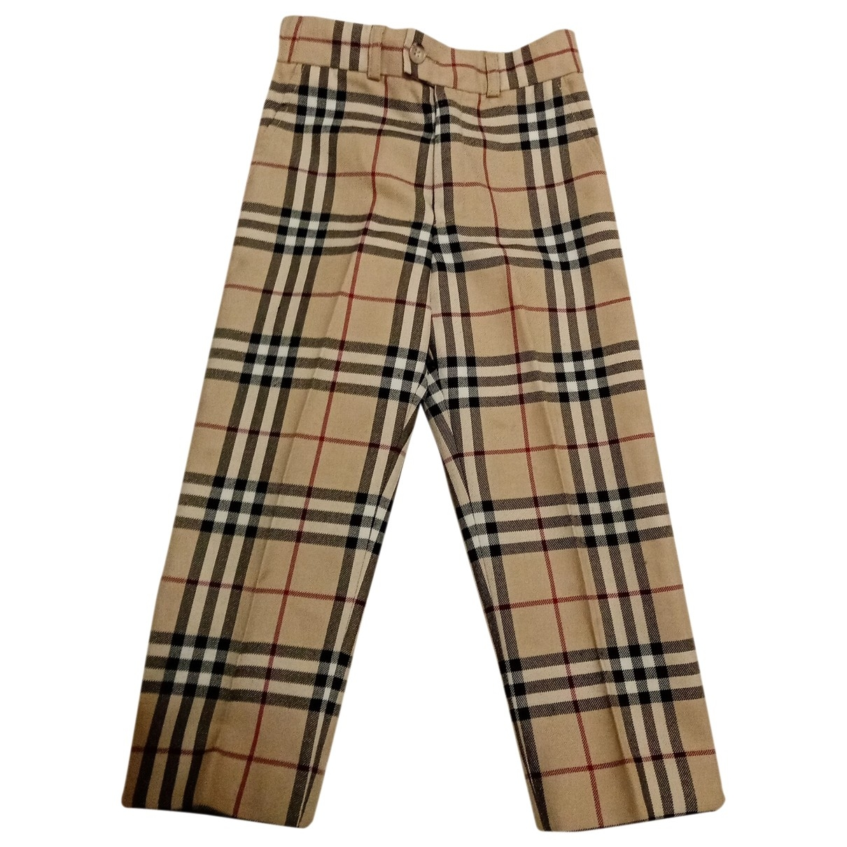 Burberry \N Beige Wool Trousers for Kids 4 years - up to 102cm FR