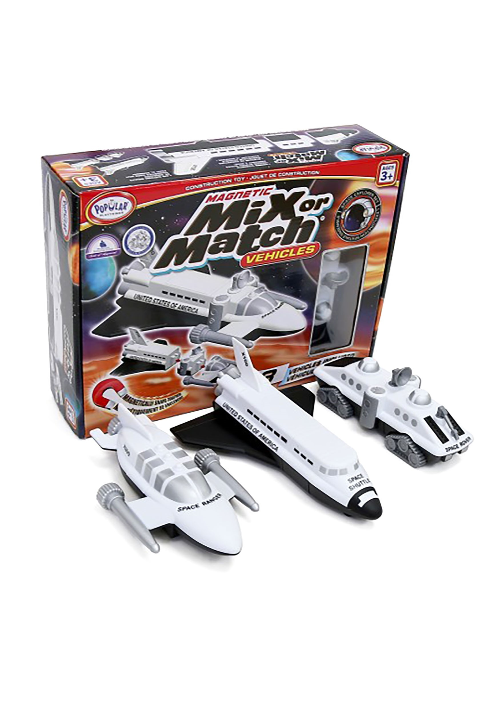 Mix or Match Magnetic Space Vehicles