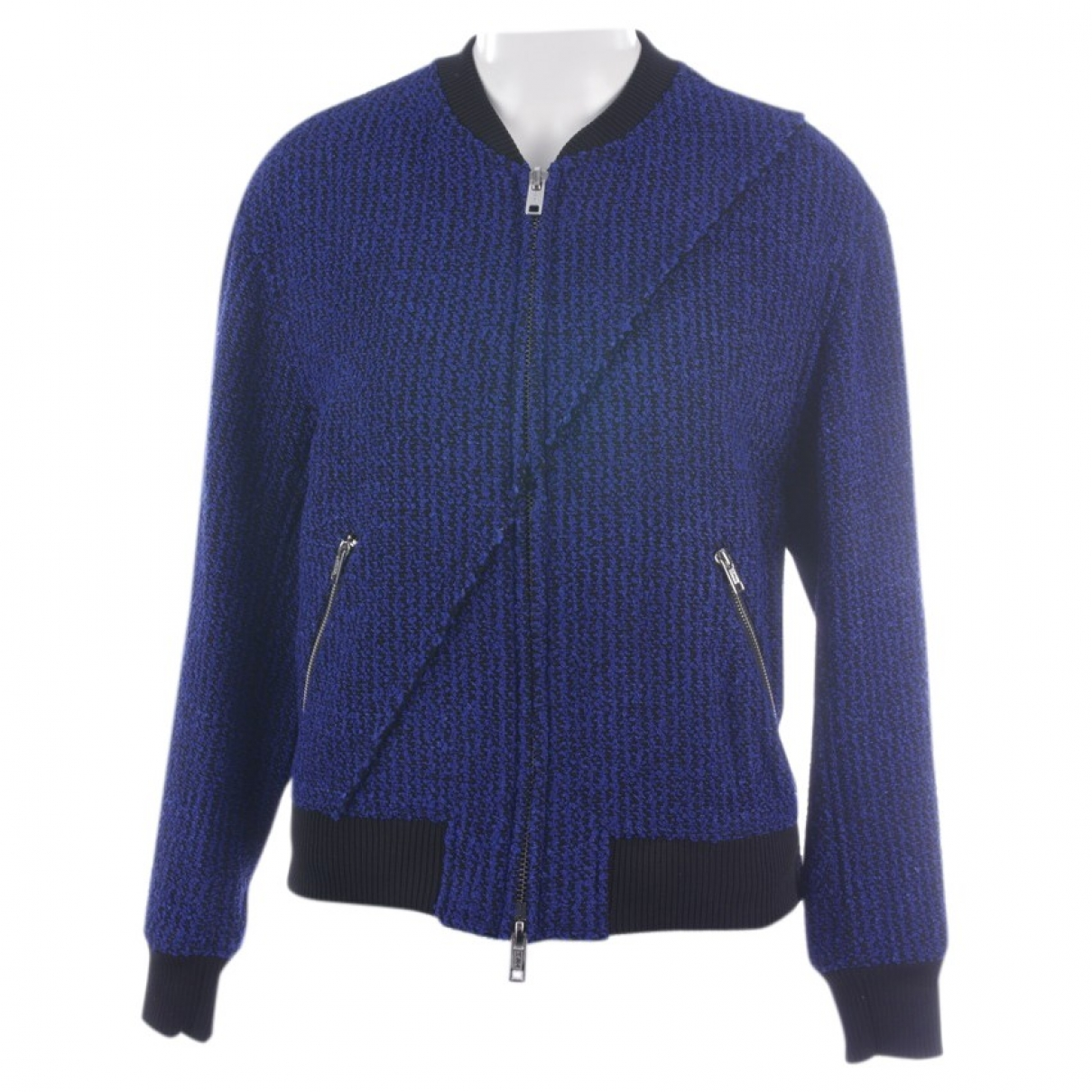 3.1 Phillip Lim \N Jacke in  Blau Synthetik