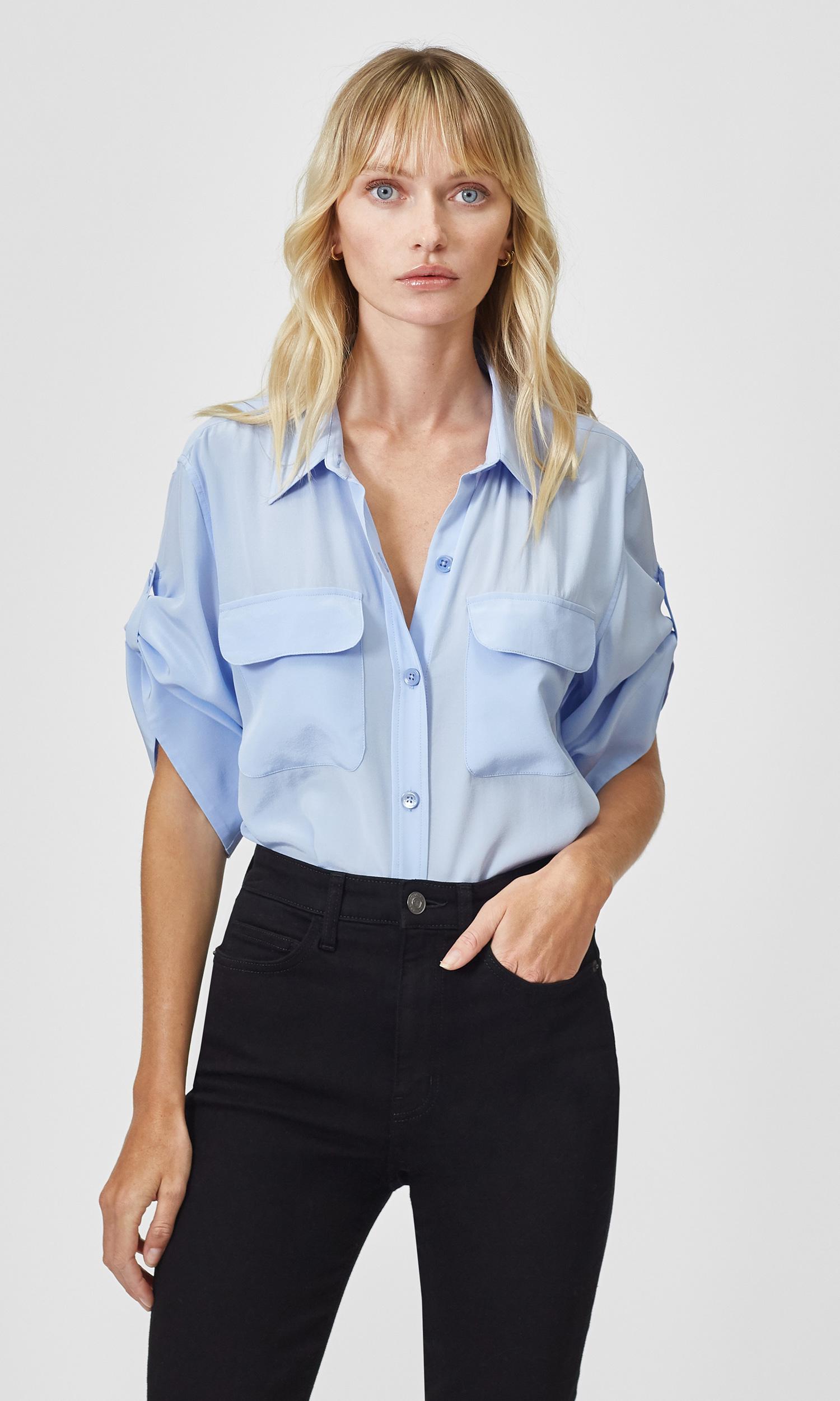 Marilau Silk Shirt by Equipment