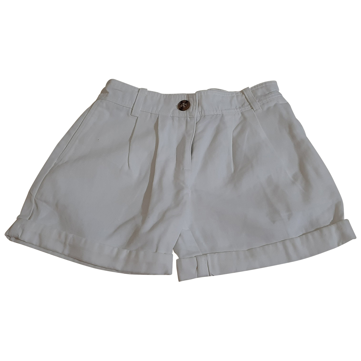 Burberry \N Shorts in  Weiss Baumwolle