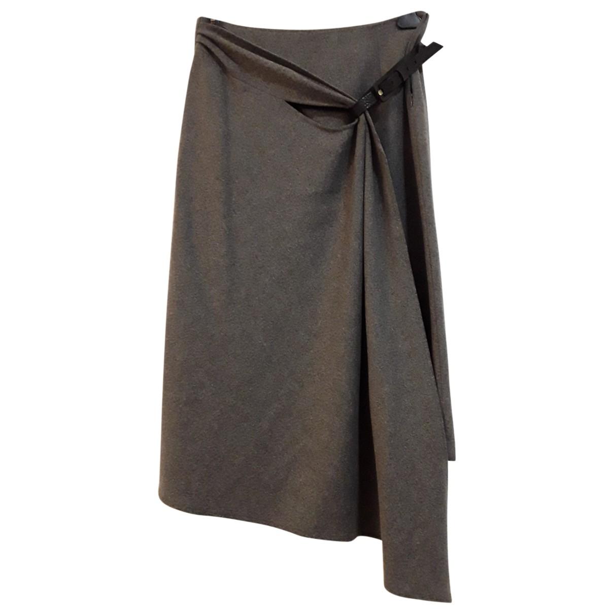 Seventy - Jupe   pour femme en laine - gris