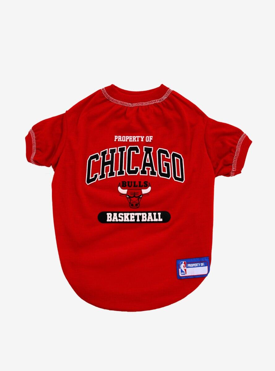 NBA Chicago Bulls Pet T-Shirt