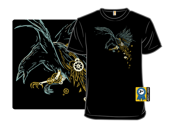 Clockwork Crow T Shirt