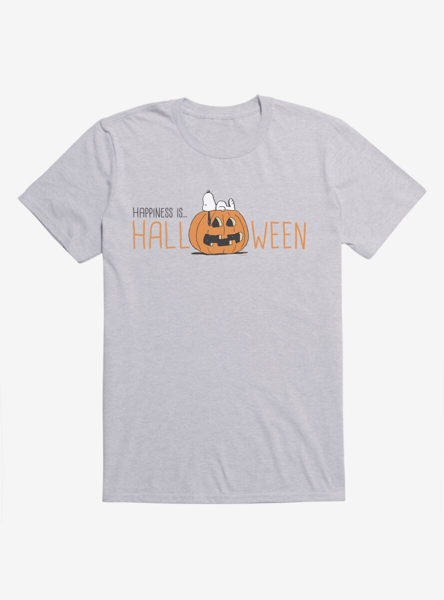 Peanuts Snoopy Halloween Happiness Is T-Shirt