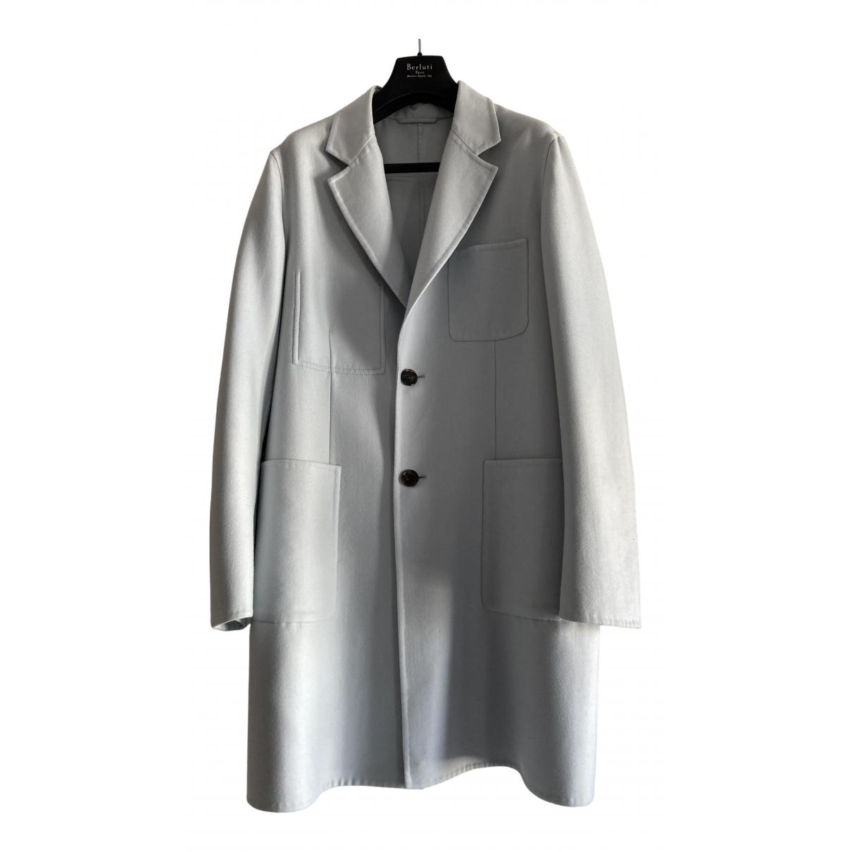 Berluti - Manteau   pour homme en cachemire - bleu