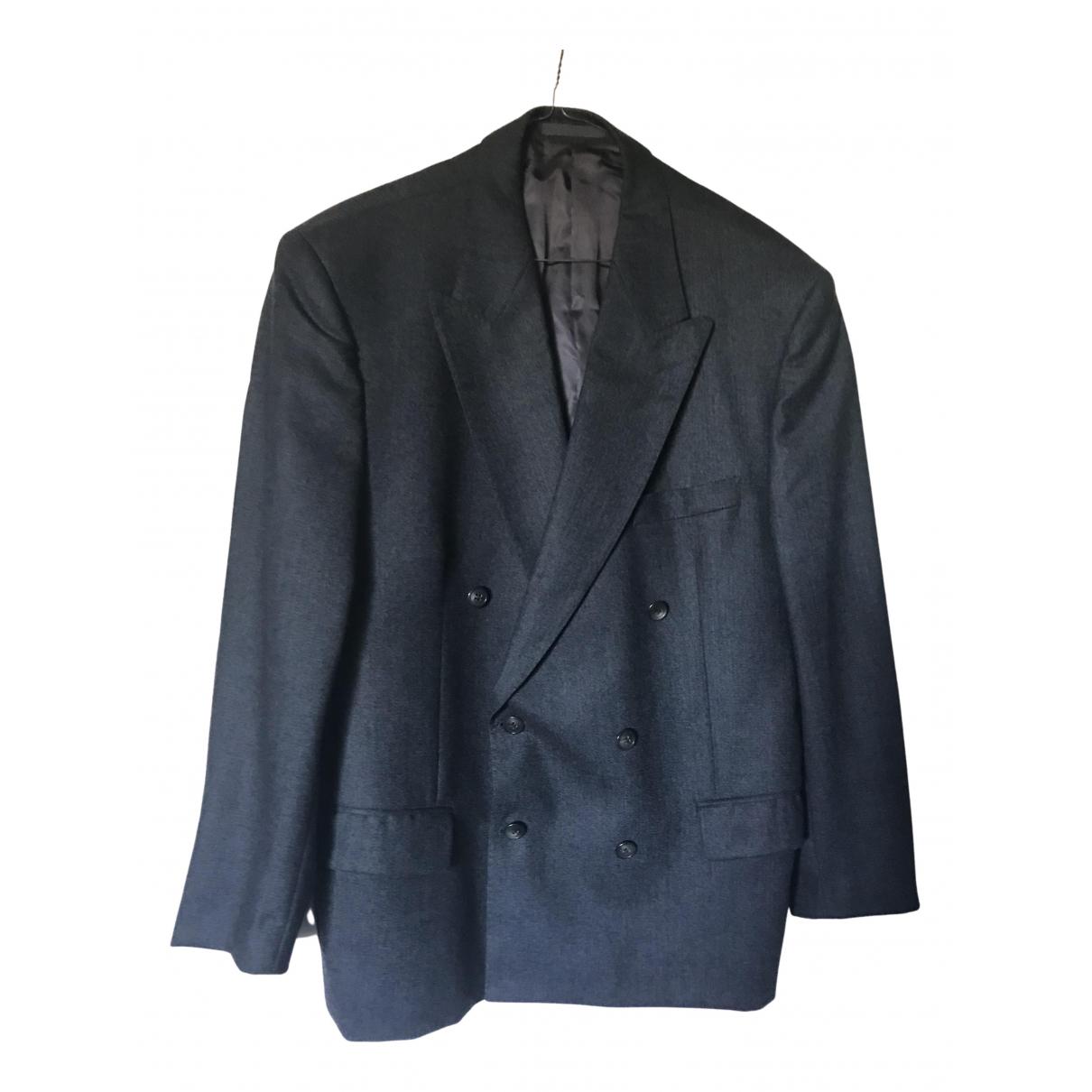 Yves Saint Laurent - Vestes.Blousons   pour homme en laine - anthracite