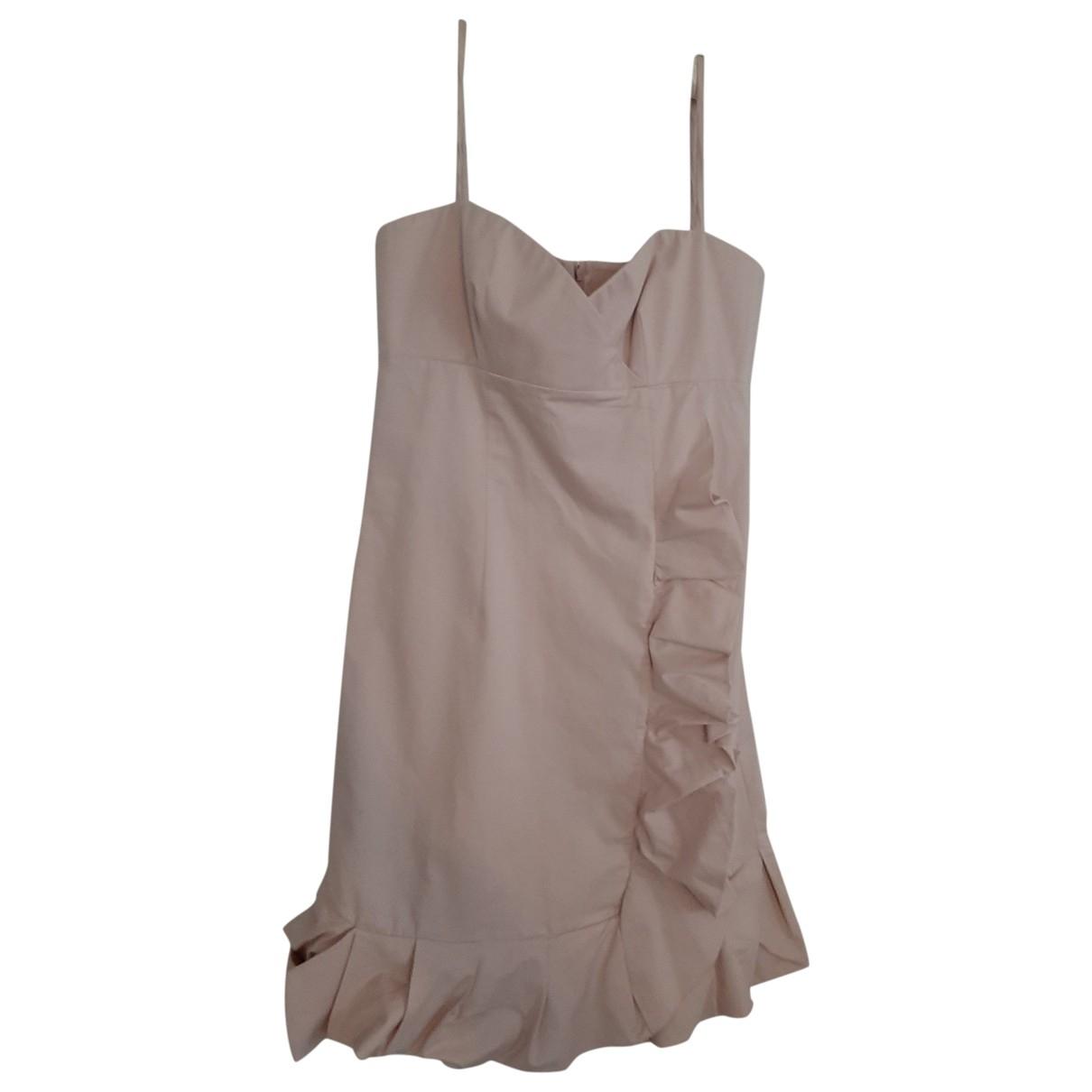 Red Valentino Garavani \N Pink Cotton dress for Women 42 IT