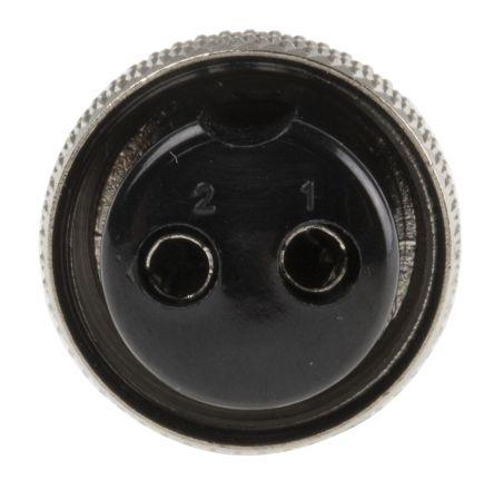 RS PRO Connector, 2 contacts Cable Mount Miniature Plug, Crimp