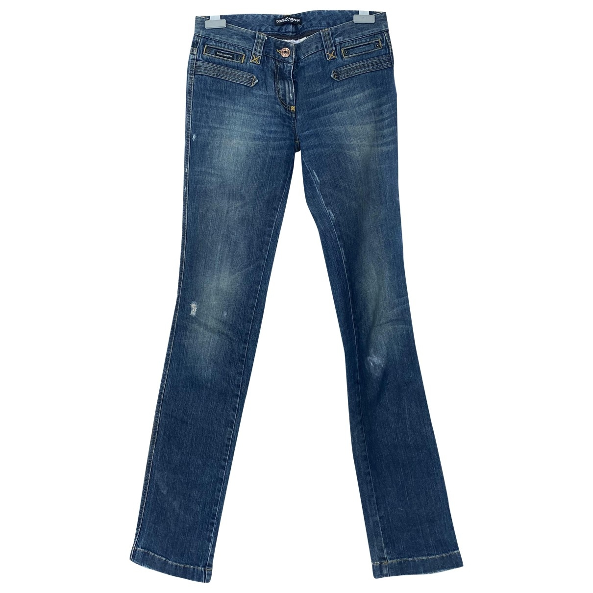 Dolce & Gabbana - Jean   pour femme en denim - bleu