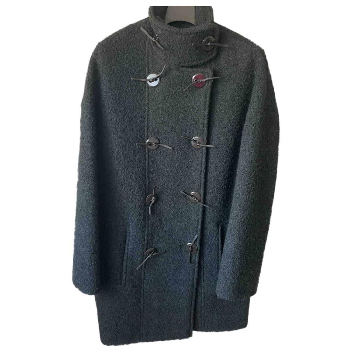 Kenzo \N Maentel in  Schwarz Wolle