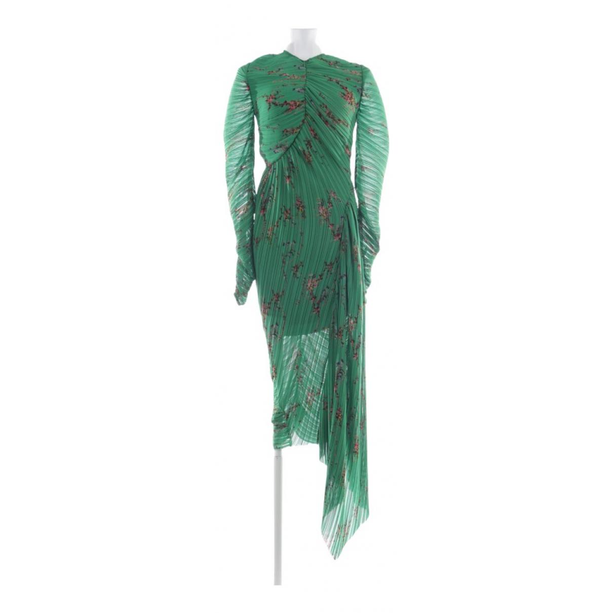 Preen By Thornton Bregazzi \N Green dress for Women 36 FR